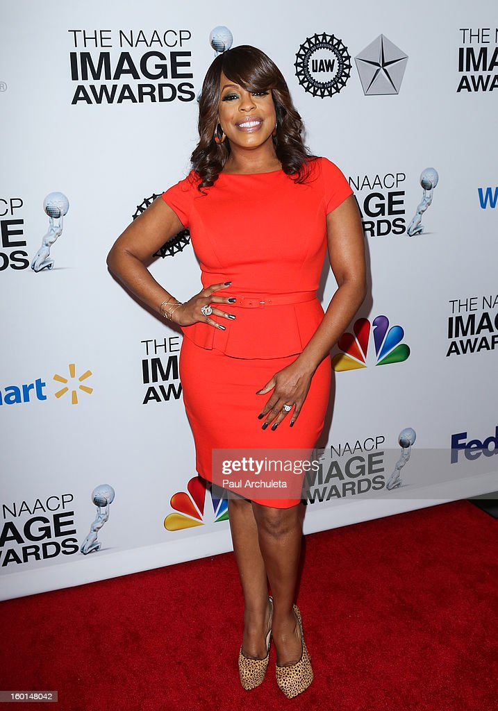 Actress Niecy Nash attends the 44th NAACP Image Awards nominee's luncheon on January 26, 2013 in Beverly Hills, California.