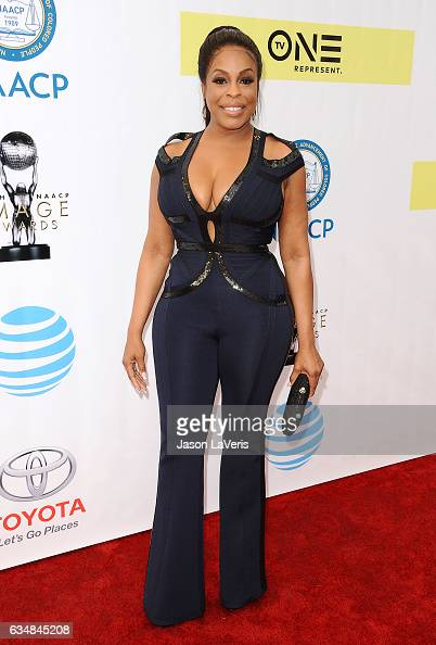 Actress Niecy Nash attends the 48th NAACP Image Awards at Pasadena Civic Auditorium on February 11 2017 in Pasadena California