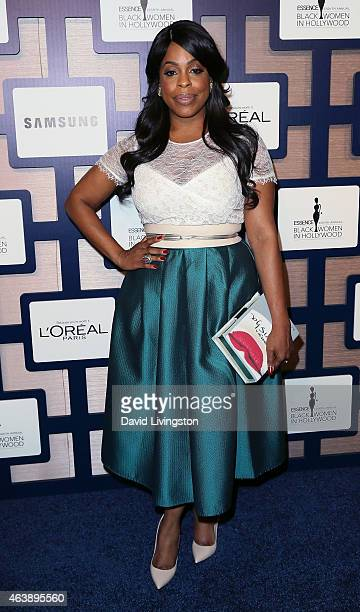 Actress Niecy Nash attends the 8th Annual ESSENCE Black Women In Hollywood Luncheon at the Beverly Wilshire Four Seasons Hotel on February 19 2015 in...