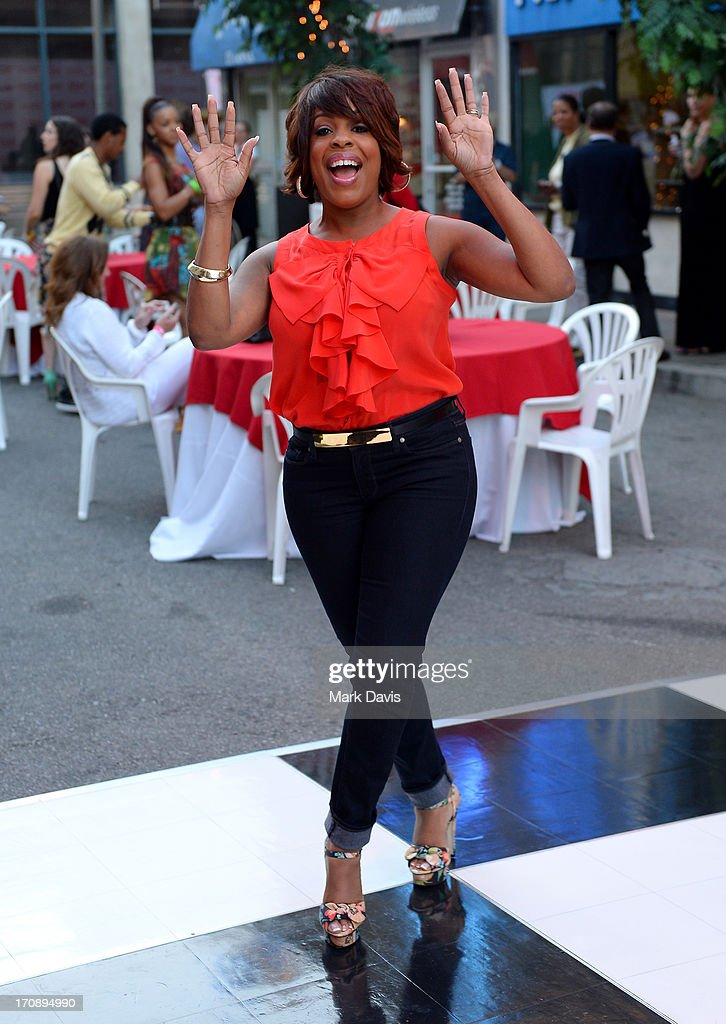 Actress Niecy Nash attends the after party for TV Land's 'Hot in Cleveland' Live Show on June 19, 2013 in Studio City, California. (TV Land's Hot in Cleveland goes LIVE at 10:00pm ET in the first LIVE broadcast in the channel's history. Betty White, Jane Leeves, Wendie Malick and Valerie Bertinelli are joined by guest stars William Shatner (Star Trek), Shirley Jones (The Partridge Family), Daniel Pudi (Community) and Brian Baumgartner (The Office).