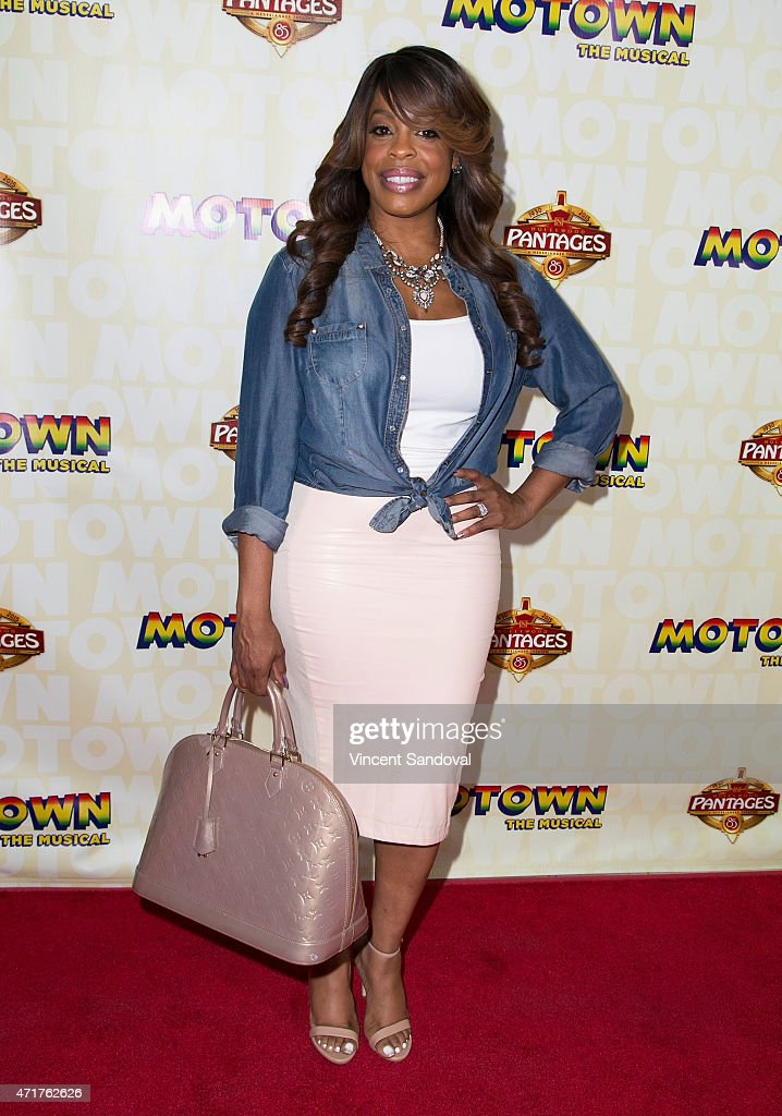 Actress Niecy Nash attends the Los Angeles opening night of 'Mowtown The Musical' at the Pantages Theatre on April 30 2015 in Hollywood California