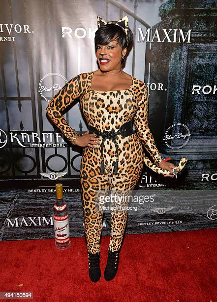 Actress Niecy Nash attends The Official MAXIM Halloween Party produced by Karma International on October 24 2015 in Beverly Hills California