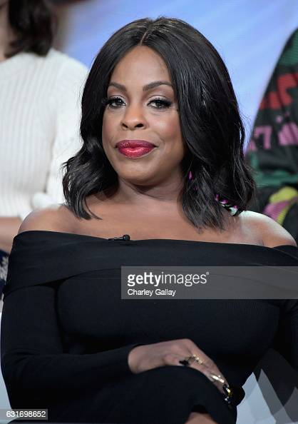 Actress Niecy Nash of 'Claws' speaks onstage during the TNT portion of the TCA Turner Winter Press Tour 2017 Presentation at The Langham Resort on...
