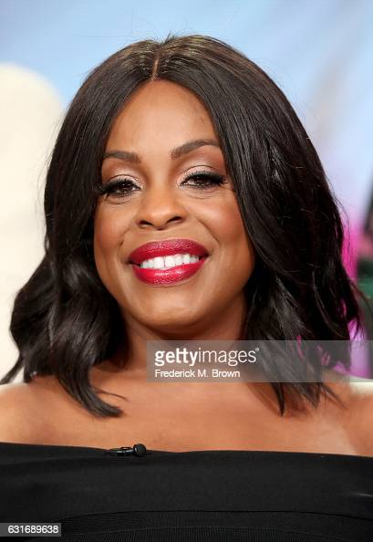 Actress Niecy Nash of the series 'Claws' speaks onstage during the TNT portion of the 2017 Winter Television Critics Association Press Tour at the...