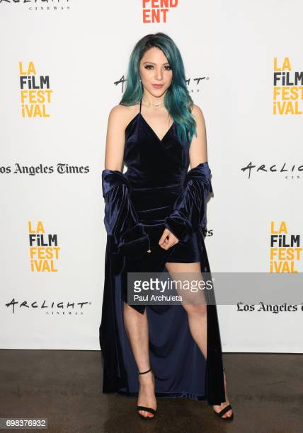 Actress Niki DeMartino attends the premiere of Netflix's 'You Get Me' at the 2017 Los Angeles Film Festival at the ArcLight Santa Monica on June 19...