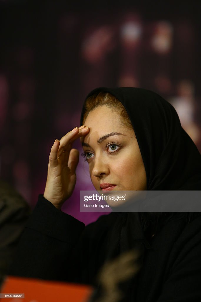 Actress Niki Karimi at Day 8 of the 31th International Fajr Film Festival on February 7, 2013 in Tehran, Iran. Organized by the Ministry of Culture and Islamic Guidance, the Film Festival is the most important film event in the country.