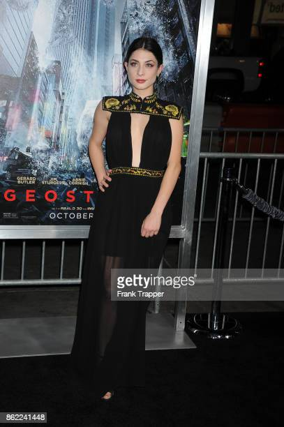 Actress Niki Koss attends the premiere of Warner Bros Pictures' 'Geostorm' on October 16 2017 at the TCL Chinese Theater in Hollywood California