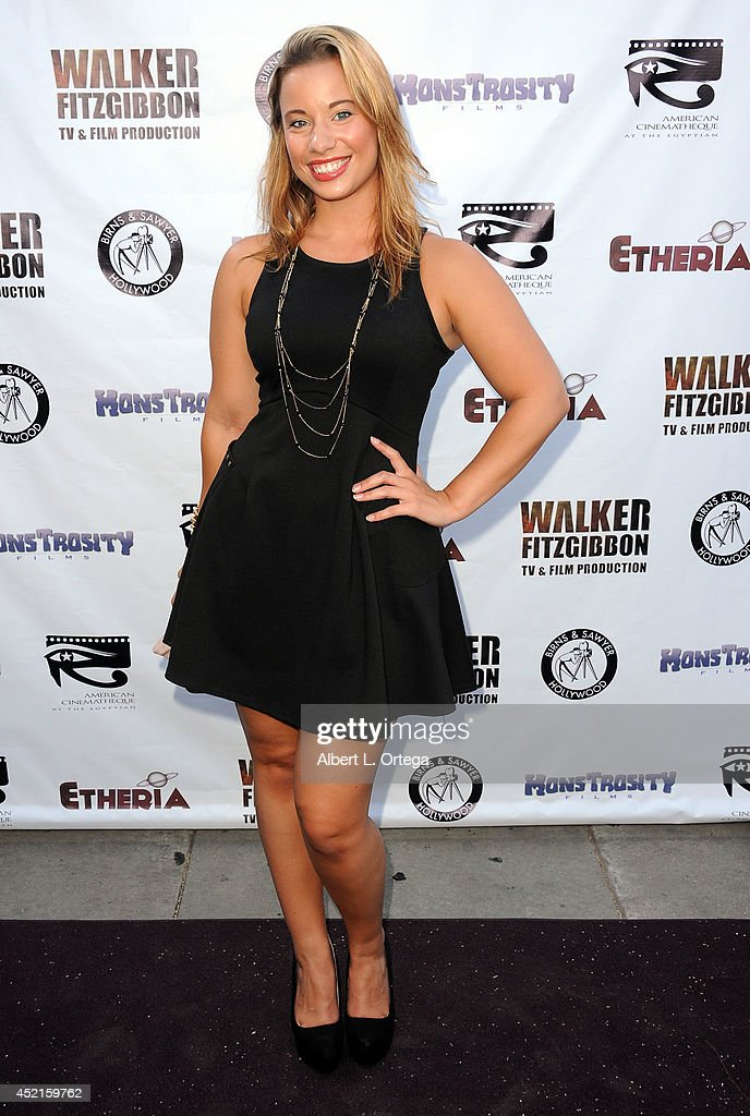 Actress Nikia Lane arrives for the 2014 Etheria Film Night held at American Cinematheque's Egyptian Theatre on July 12, 2014 in Hollywood, California.
