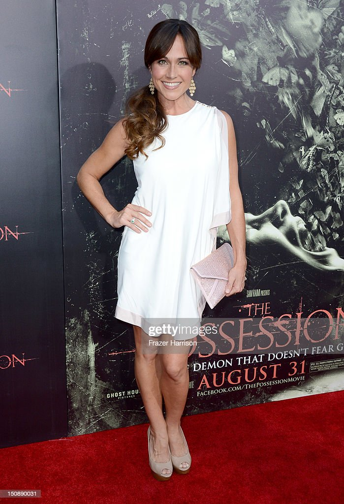 Actress Nikki DeLoach arrives at the premiere of Lionsgate Films' 'The Possession' at ArcLight Cinemas on August 28, 2012 in Hollywood, California.