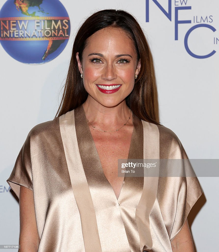 Actress Nikki Deloach attends Flying Lessons - Los Angeles premiere at Laemmle Monica 4-Plex on December 5, 2012 in Santa Monica, California.