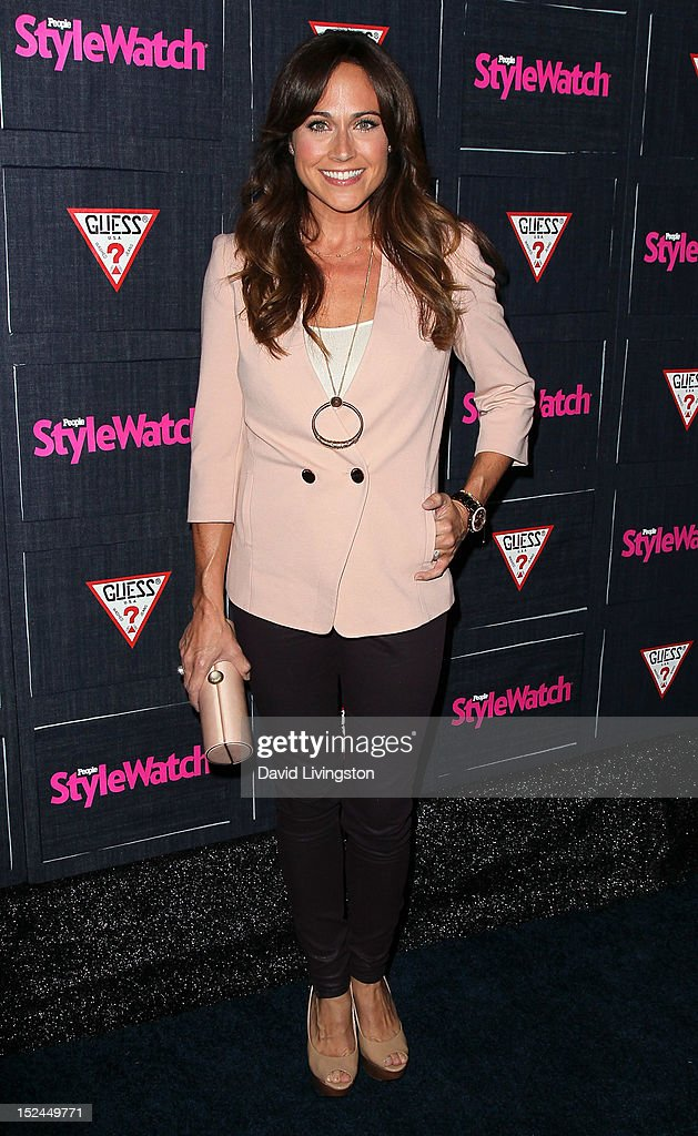 Actress Nikki Deloach attends the People StyleWatch Denim Party at Palihouse on September 20, 2012 in West Hollywood, California.