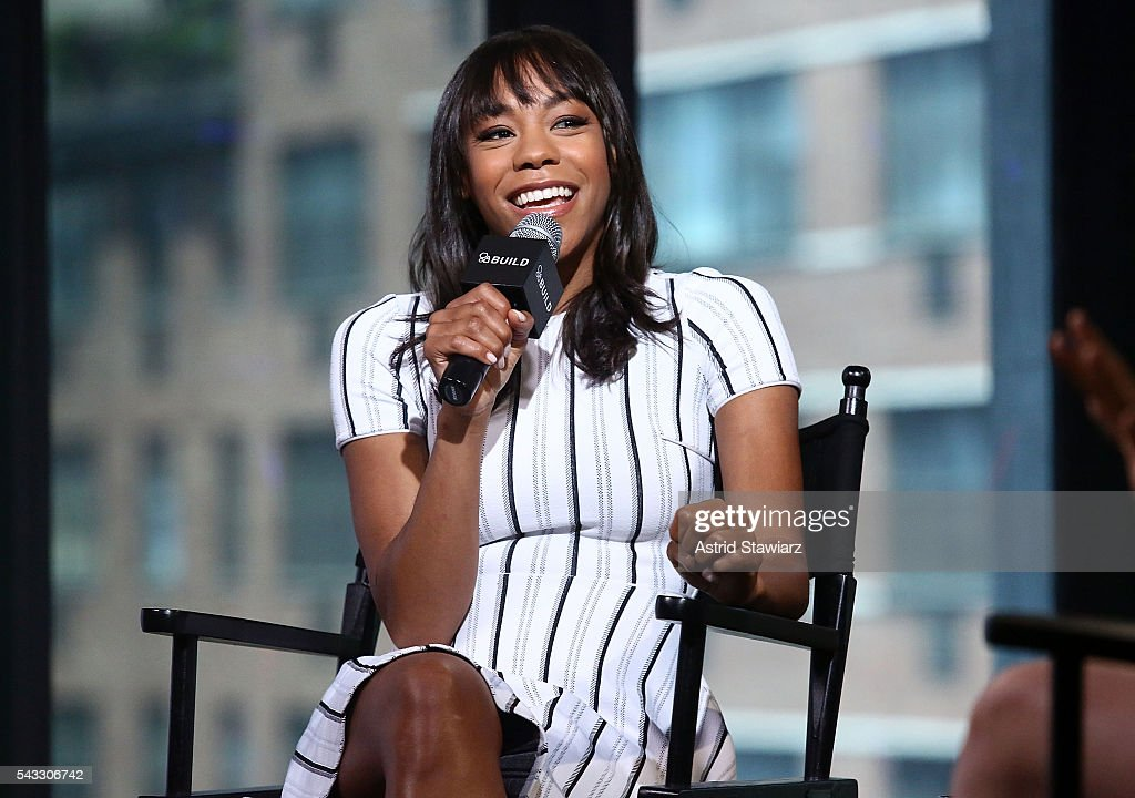 Actress <a gi-track='captionPersonalityLinkClicked' href=/galleries/search?phrase=Nikki+M.+James&family=editorial&specificpeople=7591203 ng-click='$event.stopPropagation()'>Nikki M. James</a> attends AOL Build Presents - <a gi-track='captionPersonalityLinkClicked' href=/galleries/search?phrase=Nikki+M.+James&family=editorial&specificpeople=7591203 ng-click='$event.stopPropagation()'>Nikki M. James</a> From The CBS Series: 'BrainDead' at AOL Studios In New York on June 27, 2016 in New York City.