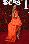 Actress Nikki M James attends the 70th Annual Tony Awards at The Beacon Theatre on June 12 2016 in New York City