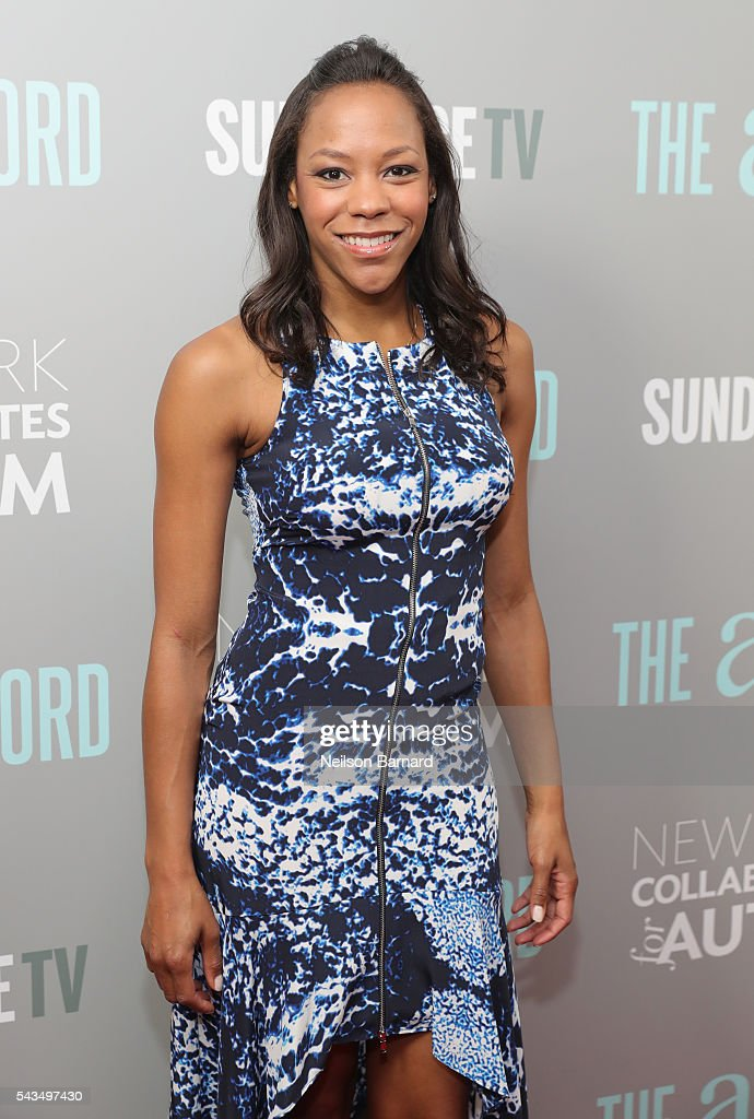 Actress Nikki M. James attends 'The A Word' New York screening at Museum Of Arts And Design on June 28, 2016 in New York City.