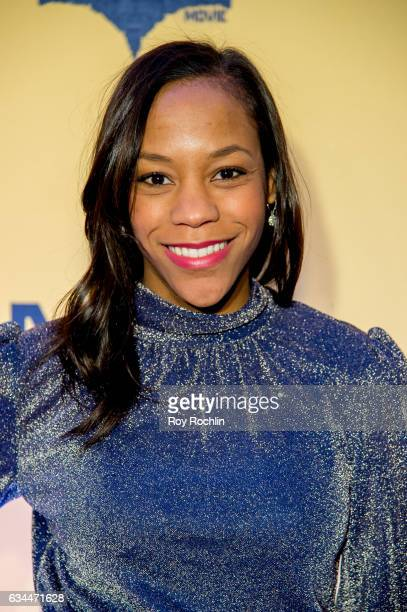 Actress Nikki M James attends 'The Lego Batman Movie' New York Screening at AMC Loews Lincoln Square 13 on February 9 2017 in New York City