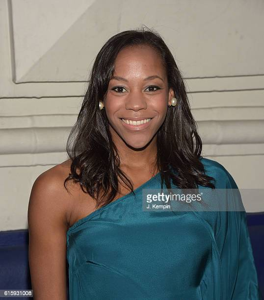 Actress Nikki M James attends the 'The Front Page' Broadway Opening Night at The Broadhurst Theatre on October 20 2016 in New York City