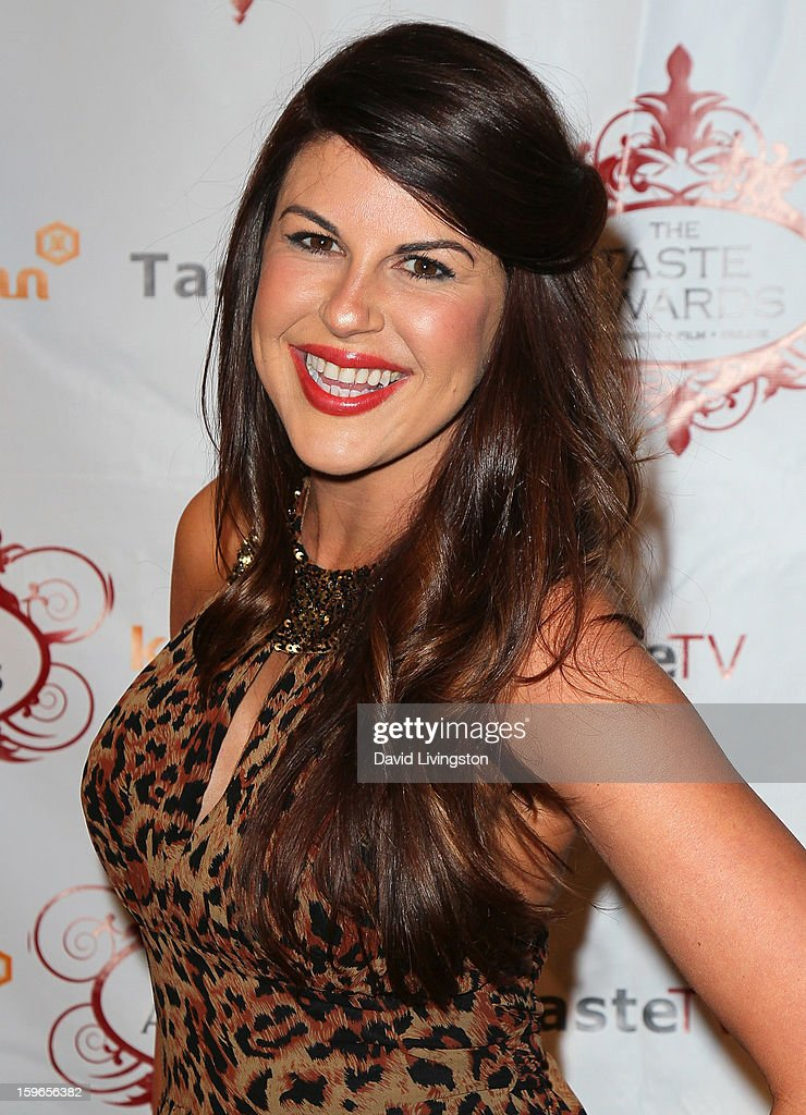 Actress Nikki Martin attends the 4th Annual Taste Awards at Vibiana on January 17, 2013 in Los Angeles, California.