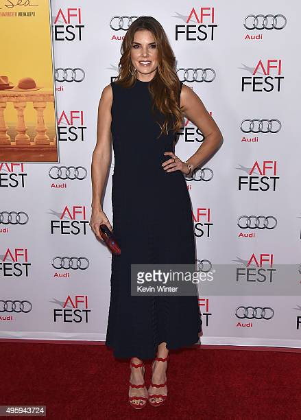 Actress Nikki Moore attends the opening night gala premiere of Universal Pictures' 'By the Sea' during AFI FEST 2015 presented by Audi at TCL Chinese...