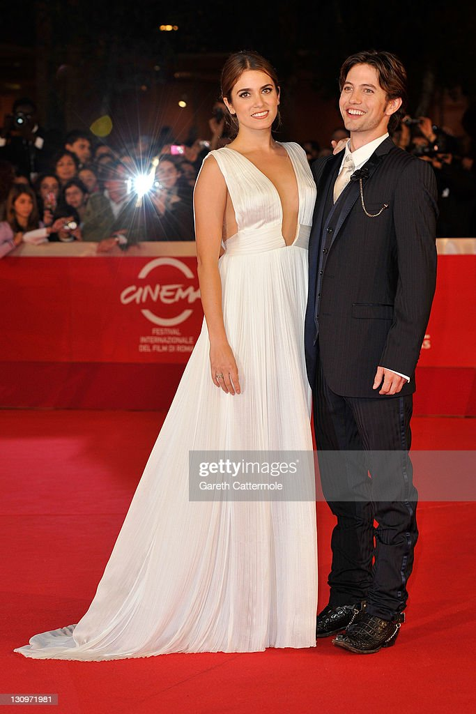 Actress <a gi-track='captionPersonalityLinkClicked' href=/galleries/search?phrase=Nikki+Reed&family=editorial&specificpeople=220844 ng-click='$event.stopPropagation()'>Nikki Reed</a> and actor <a gi-track='captionPersonalityLinkClicked' href=/galleries/search?phrase=Jackson+Rathbone&family=editorial&specificpeople=4070053 ng-click='$event.stopPropagation()'>Jackson Rathbone</a> attend the 'The Twilight Saga: Breaking Dawn - Part 1' Premiere during the 6th International Rome Film Festival on October 30, 2011 in Rome, Italy.