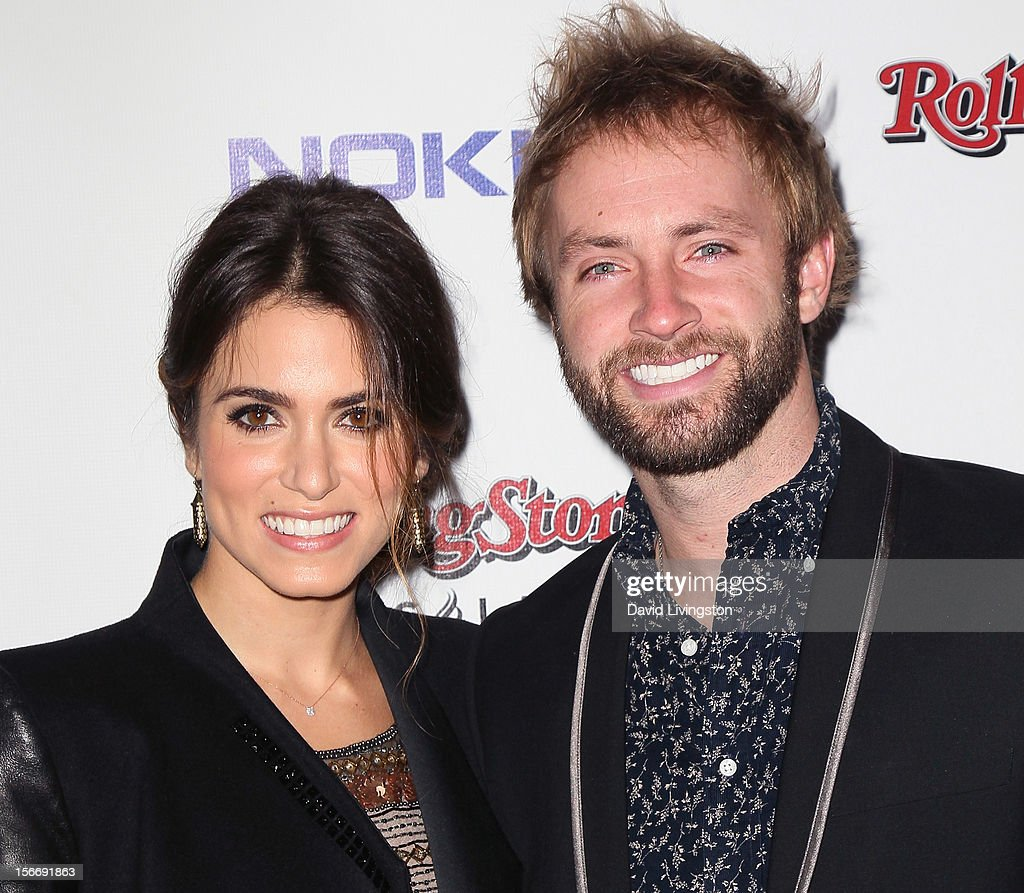 Actress Nikki Reed (L) and husband singer Paul McDonald attend Rolling Stone Magazine's 2012 American Music Awards (AMAs) VIP After Party presented by Nokia and Rdio at the Rolling Stone Restaurant and Lounge on November 18, 2012 in Los Angeles, California.
