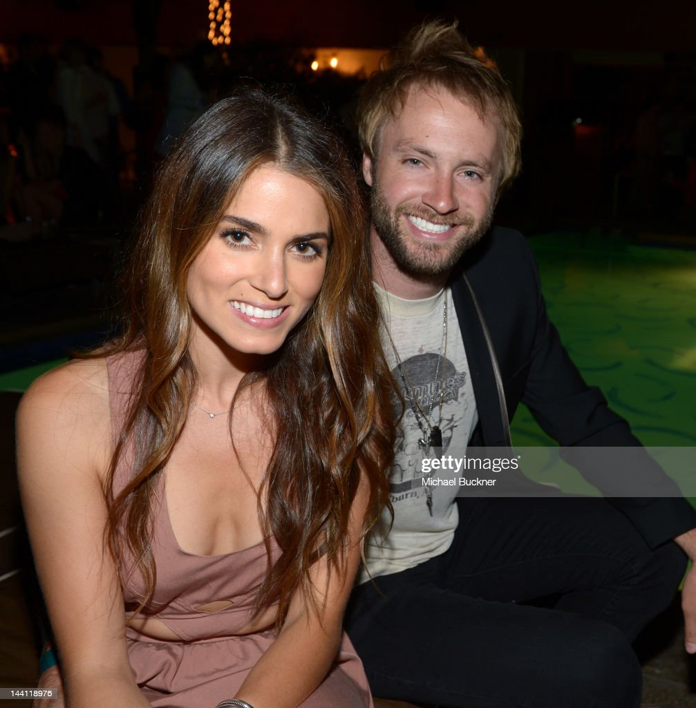 Actress Nikki Reed (L) and musician Paul McDonald attend the NYLON Magazine and Tommy Girl Annual May Young Hollywood Issue Party at Hollywood Roosevelt Hotel on May 9, 2012 in Hollywood, California.