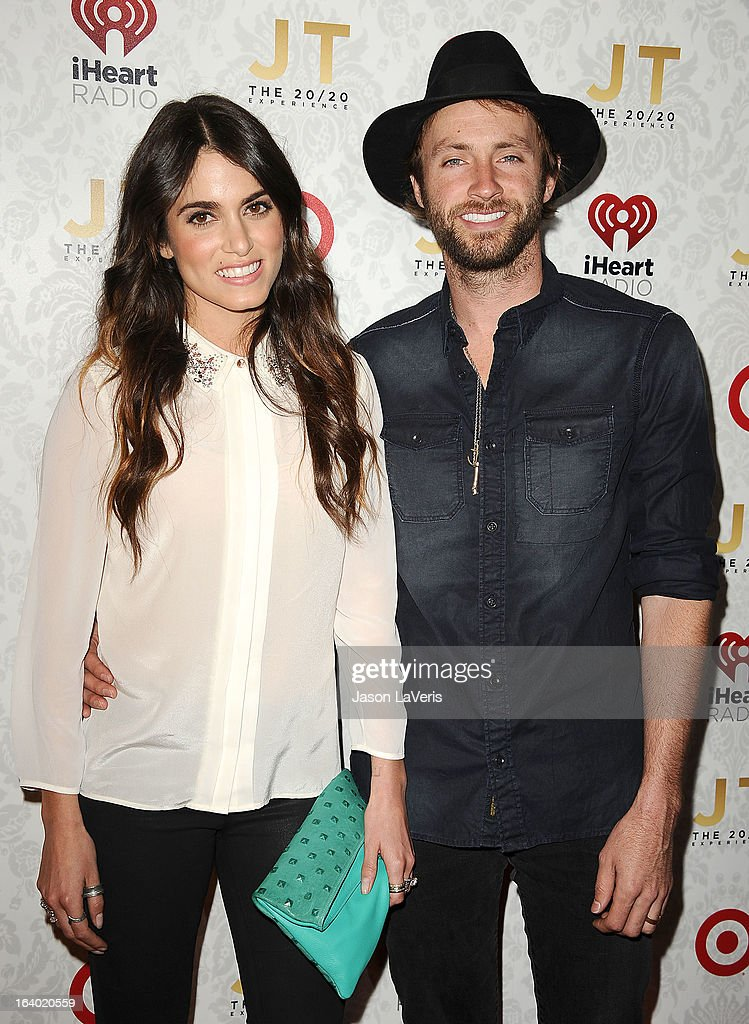 Actress Nikki Reed and singer Paul McDonald attend the '20/20' album release party with Justin Timberlake at El Rey Theatre on March 18 2013 in Los...