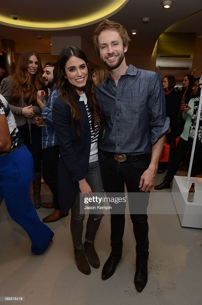 Actress <a gi-track='captionPersonalityLinkClicked' href=/galleries/search?phrase=Nikki+Reed&family=editorial&specificpeople=220844 ng-click='$event.stopPropagation()'>Nikki Reed</a> and singer/songwriter Paul McDonald attend Joe Fresh at jcp launch event on March 7, 2013 in Beverly Hills, California.