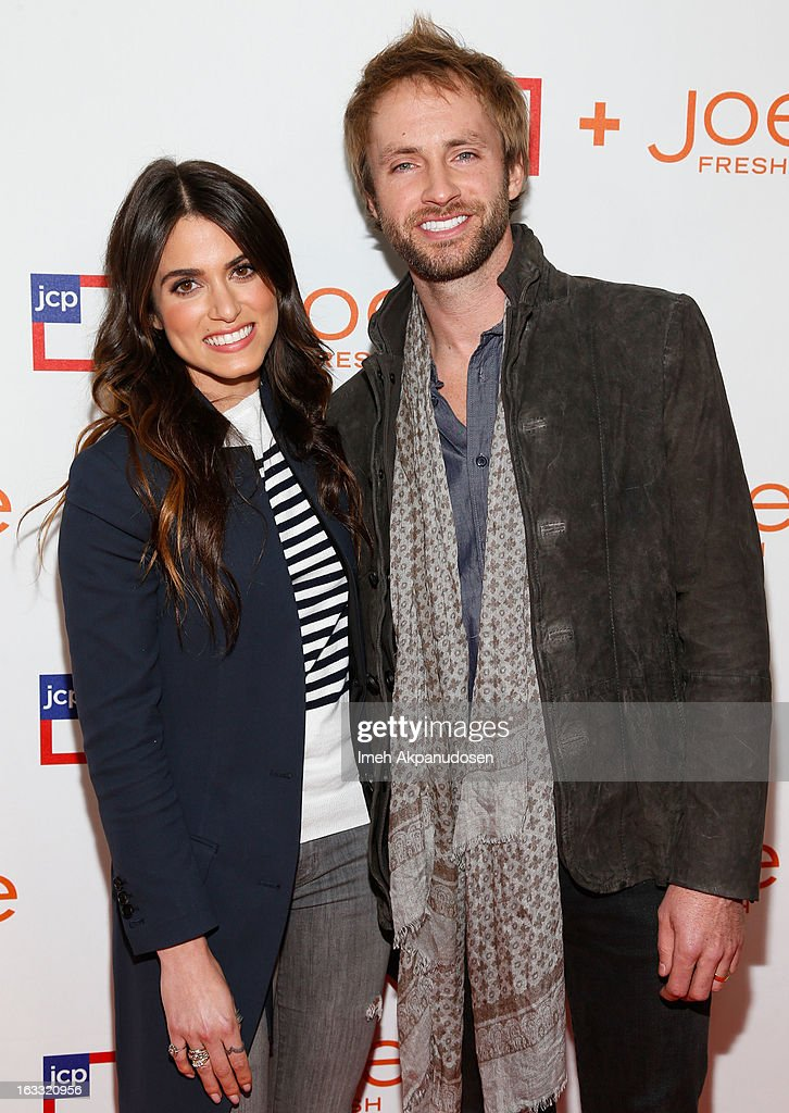 Actress <a gi-track='captionPersonalityLinkClicked' href=/galleries/search?phrase=Nikki+Reed&family=editorial&specificpeople=220844 ng-click='$event.stopPropagation()'>Nikki Reed</a> (L) and singer/songwriter Paul McDonald attend the Joe Fresh at jcp Pop Up event on March 7, 2013 in Los Angeles, California.