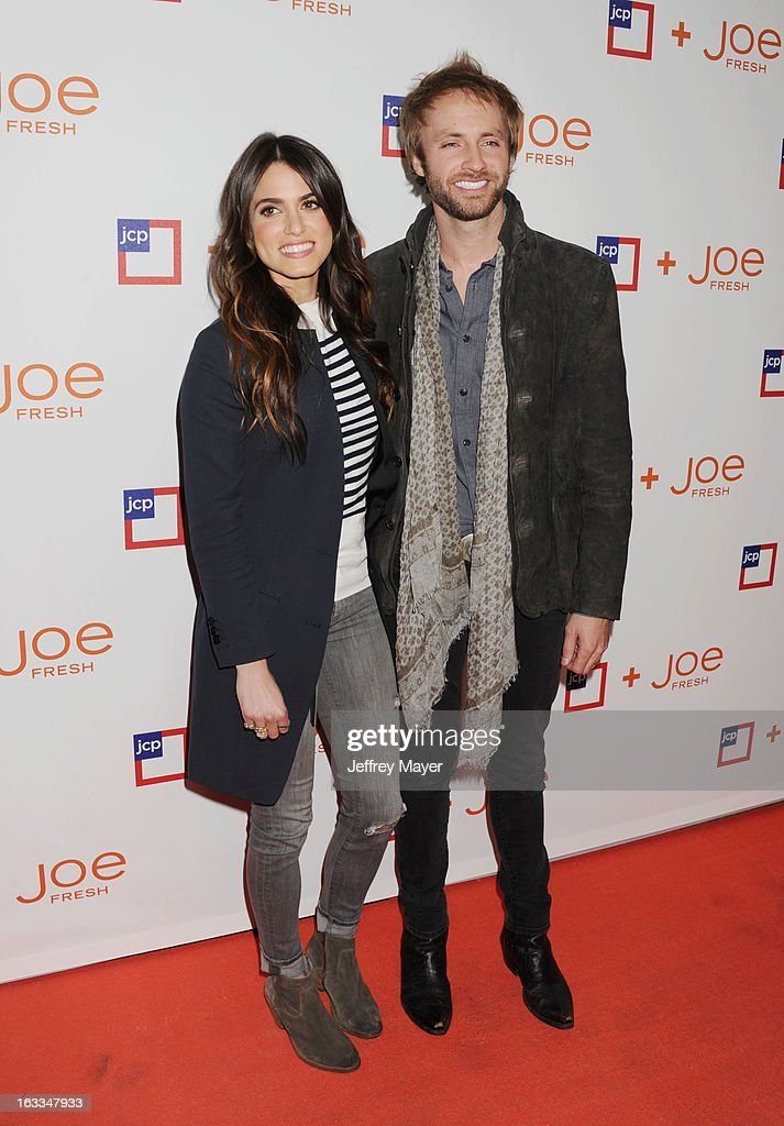 Actress <a gi-track='captionPersonalityLinkClicked' href=/galleries/search?phrase=Nikki+Reed&family=editorial&specificpeople=220844 ng-click='$event.stopPropagation()'>Nikki Reed</a> and singer/songwriter Paul McDonald attend the Joe Fresh at jcp launch event at Joe Fresh at jcp Pop Up on March 7, 2013 in Los Angeles, California.