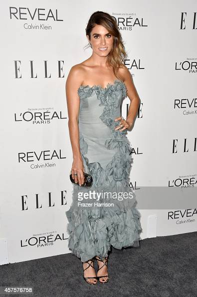 Actress Nikki Reed arrives at ELLE's 21st Annual Women In Hollywood at Four Seasons Hotel Los Angeles at Beverly Hills on October 20 2014 in Beverly...