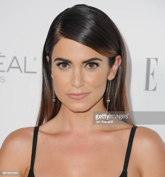 Actress Nikki Reed arrives at ELLE's 24th Annual Women in Hollywood Celebration at Four Seasons Hotel Los Angeles at Beverly Hills on October 16 2017...