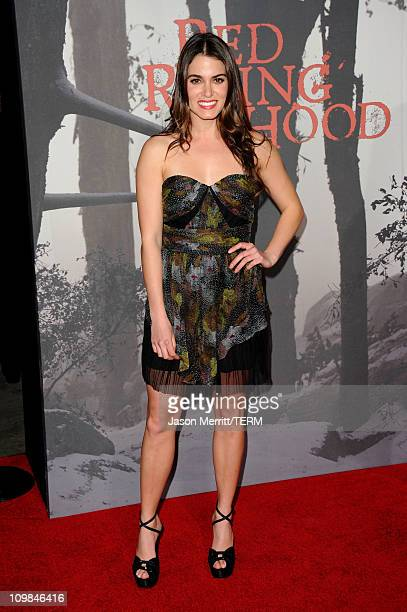 Actress Nikki Reed arrives at premiere of Warner Bros Pictures' 'Red Riding Hood' at Grauman's Chinese Theatre on March 7 2011 in Hollywood California