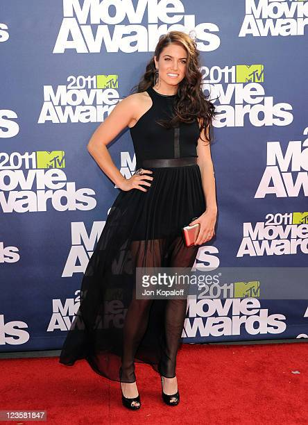 Actress Nikki Reed arrives at the 2011 MTV Movie Awards at Gibson Amphitheatre on June 5 2011 in Universal City California