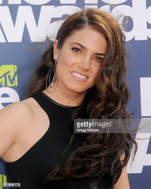 Actress Nikki Reed arrives at the 2011 MTV Movie Awards at the Gibson Amphitheatre on June 5 2011 in Universal City California