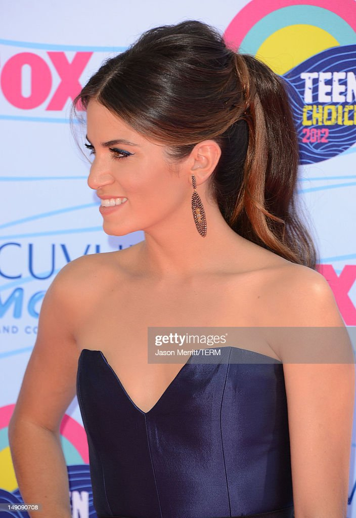 Actress Nikki Reed arrives at the 2012 Teen Choice Awards at Gibson Amphitheatre on July 22, 2012 in Universal City, California.
