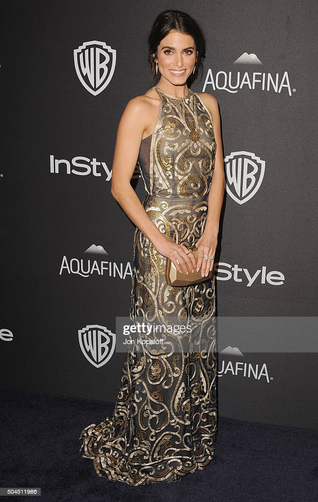Actress Nikki Reed arrives at the 2016 InStyle And Warner Bros 73rd Annual Golden Globe Awards PostParty at The Beverly Hilton Hotel on January 10...