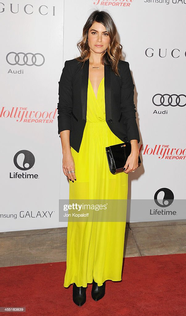Actress <a gi-track='captionPersonalityLinkClicked' href=/galleries/search?phrase=Nikki+Reed&family=editorial&specificpeople=220844 ng-click='$event.stopPropagation()'>Nikki Reed</a> arrives at The Hollywood Reporter's 22nd Annual Women In Entertainment Breakfast 2013 at Beverly Hills Hotel on December 11, 2013 in Beverly Hills, California.