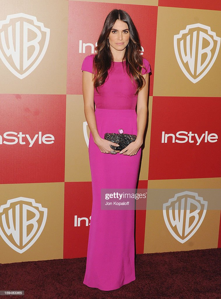 Actress Nikki Reed arrives at the InStyle And Warner Bros. Golden Globe Party at The Beverly Hilton Hotel on January 13, 2013 in Beverly Hills, California.
