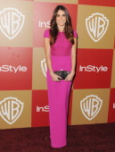 Actress Nikki Reed arrives at the InStyle And Warner Bros Golden Globe Party at The Beverly Hilton Hotel on January 13 2013 in Beverly Hills...