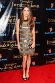 Actress Nikki Reed arrives at 'The Twilight Saga Breaking Dawn Part 2' VIP ComicCon celebration at Hard Rock Hotel San Diego on July 11 2012 in San...
