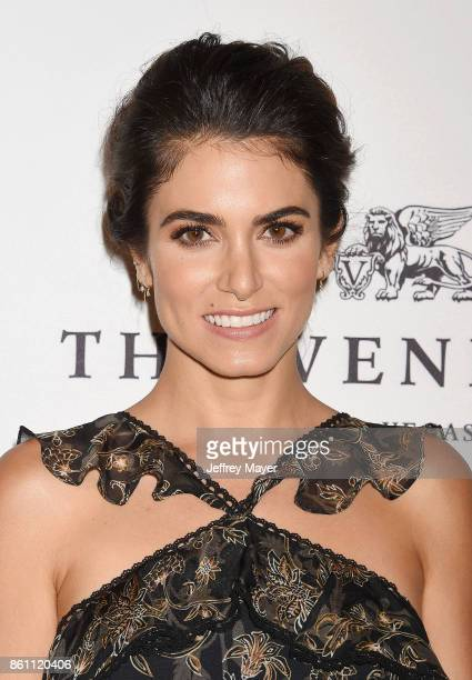 Actress Nikki Reed arrives at the Variety's Power Of Women Los Angeles at the Beverly Wilshire Four Seasons Hotel on October 13 2017 in Beverly Hills...