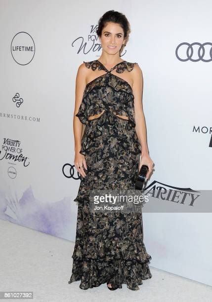 Actress Nikki Reed arrives at Variety's Power Of Women Los Angeles at the Beverly Wilshire Four Seasons Hotel on October 13 2017 in Beverly Hills...