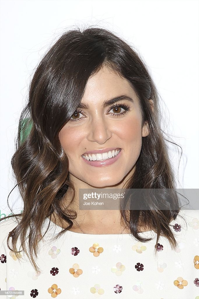Actress Nikki Reed attends Blue Jeans go green celebrates 1 Million pieces of denim collected for recycling hosted by Miles Teller at SkyBar at the Mondrian Los Angeles on November 6, 2013 in West Hollywood, California.