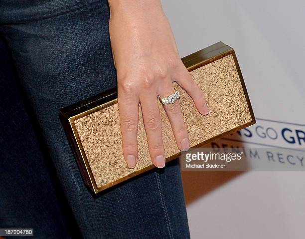 Actress Nikki Reed attends Cotton Incorporated's Blue Jeans Go Green celebrates 1 million pieces of denim collected for recycling at SkyBar at the...