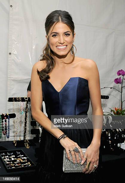 Actress Nikki Reed attends day 2 of Backstage Creations Celebrity Retreat at Teen Choice 2012 at Gibson Amphitheatre on July 22 2012 in Universal...