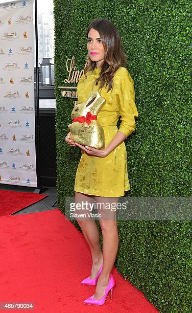 Actress Nikki Reed attends Gold Bunny Celebrity Auction Raising Awareness For Autism at Gramercy Park Hotel on March 10 2015 in New York City