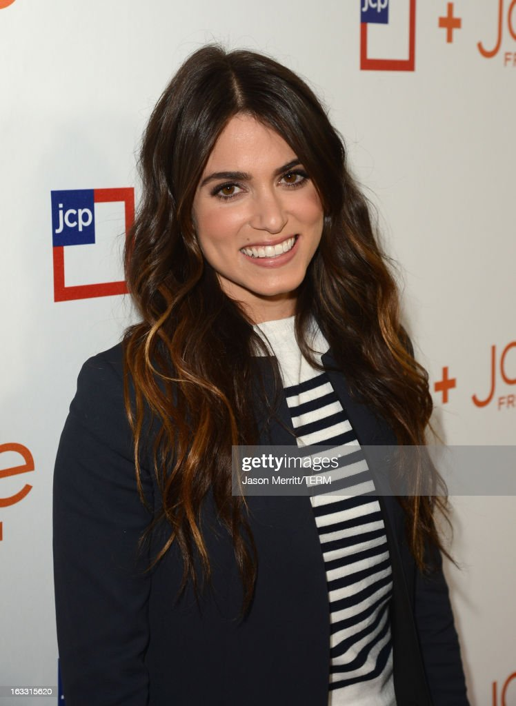 Actress <a gi-track='captionPersonalityLinkClicked' href=/galleries/search?phrase=Nikki+Reed&family=editorial&specificpeople=220844 ng-click='$event.stopPropagation()'>Nikki Reed</a> attends Joe Fresh at jcp launch event on March 7, 2013 in Beverly Hills, California.