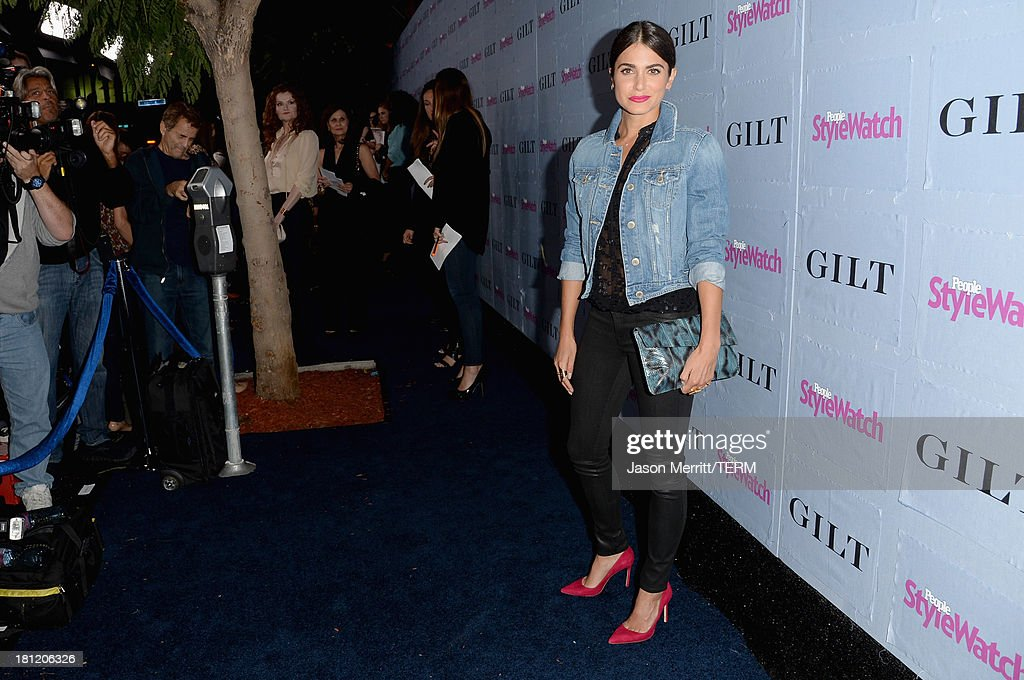 Actress <a gi-track='captionPersonalityLinkClicked' href=/galleries/search?phrase=Nikki+Reed&family=editorial&specificpeople=220844 ng-click='$event.stopPropagation()'>Nikki Reed</a> attends People StyleWatch Denim Awards presented by GILT at Palihouse on September 19, 2013 in West Hollywood, California.