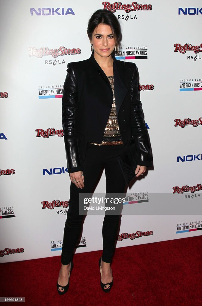 Actress Nikki Reed attends Rolling Stone Magazine's 2012 American Music Awards (AMAs) VIP After Party presented by Nokia and Rdio at the Rolling Stone Restaurant and Lounge on November 18, 2012 in Los Angeles, California.
