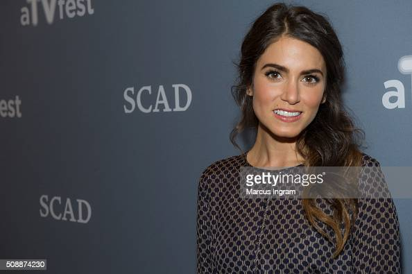 Actress Nikki Reed attends 'Sleepy Hollow' event during SCAD aTVfest 2016 Day 3 at the SCADShow Performing Arts Theater on February 6 2016 in Atlanta...